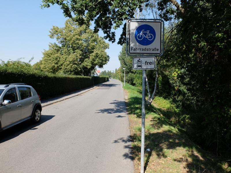 Fahrradstraße in Bamberg | Radfahrerzone.de