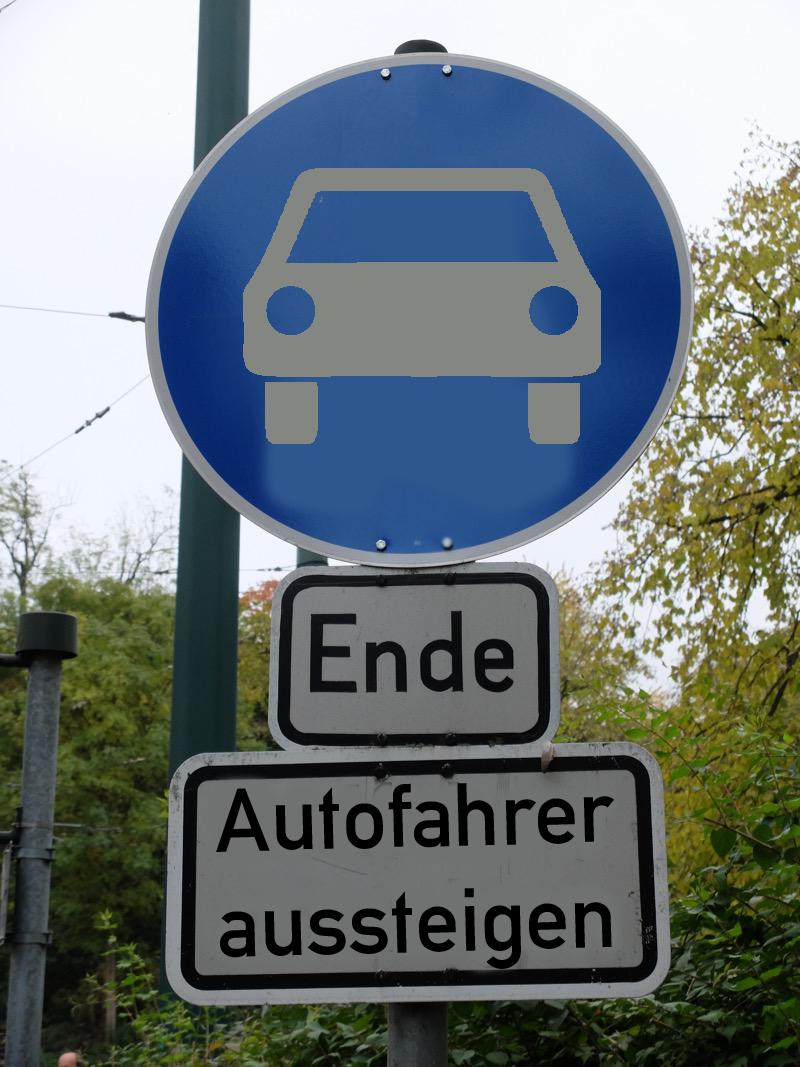Autofahrer aussteigen | Radfahrerzone.de