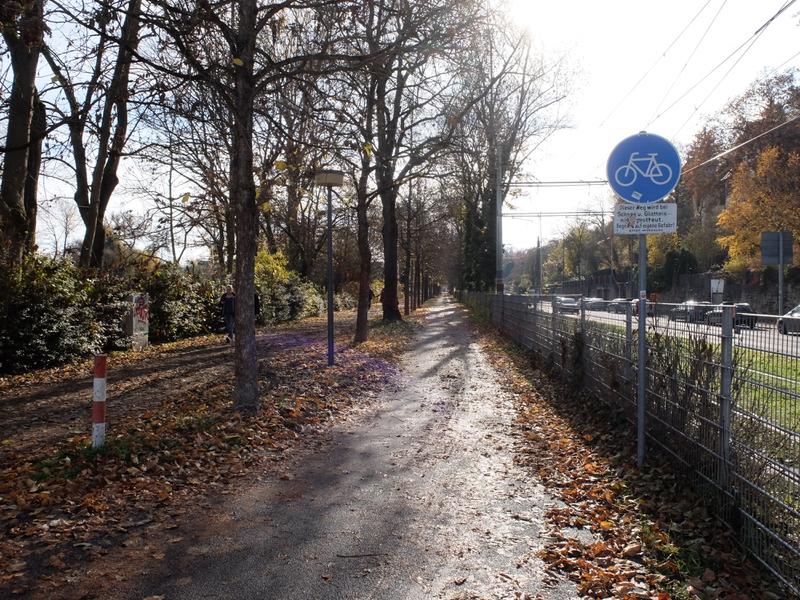 Radweg Mergentheimer Straße Würzburg | Radfahrerzone.de