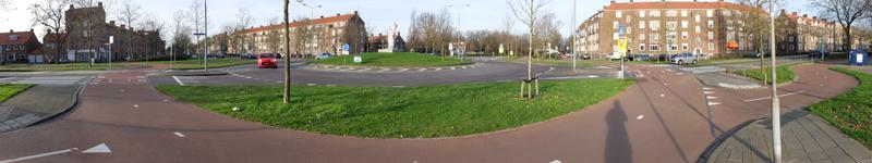 Zweirichtungsradweg im Kreisverkehr | Radfahrzone.de