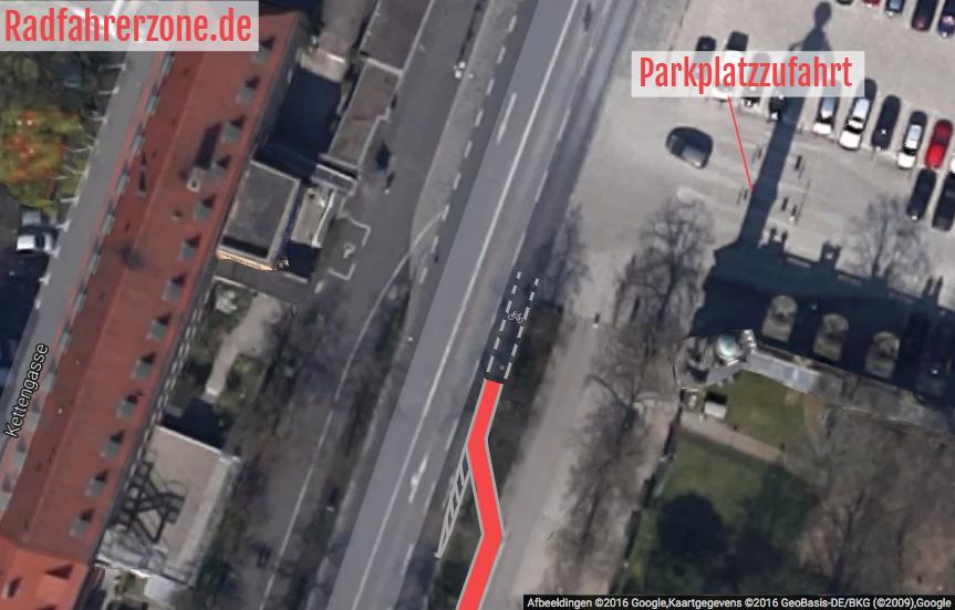 Radweg Würzburger Residenz Idee 1